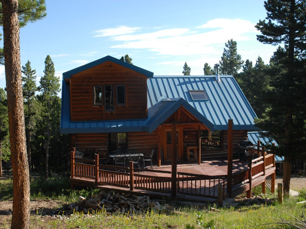 log cabin rental near boulder colorado