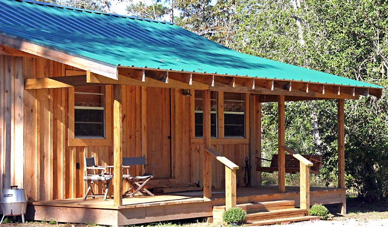 Cabin Rental Getaway Near Houston Texas