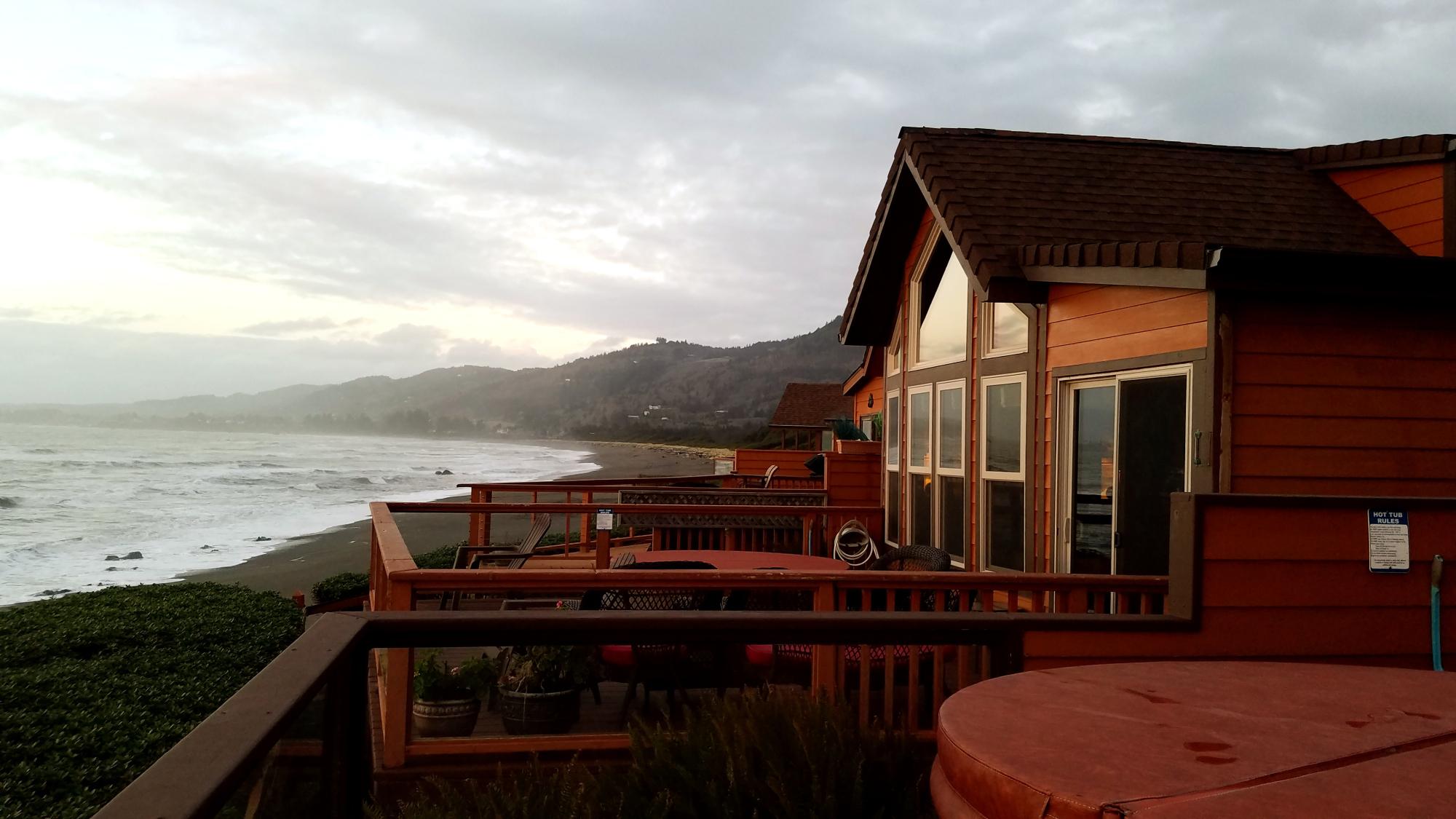 family cabin rental near harris beach state park california