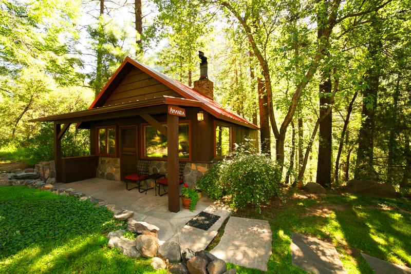Vacation Cabin Rental In Oak Creek Canyon Arizona