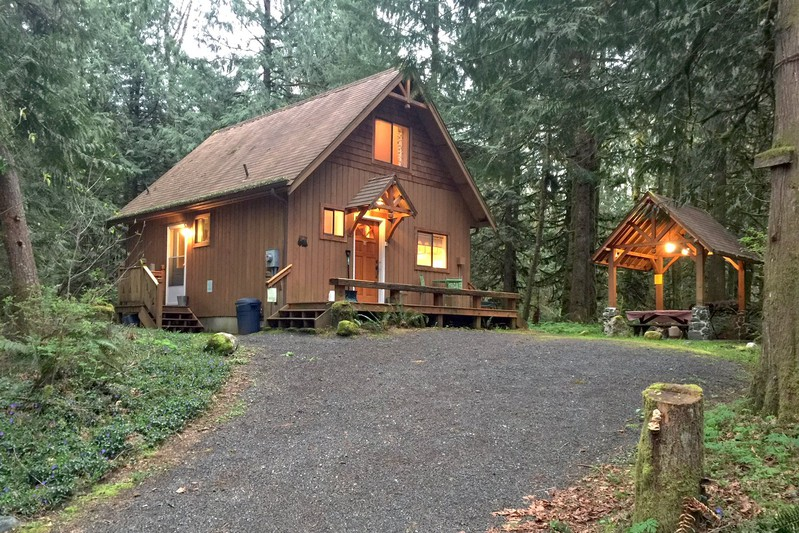 Cabin rental in mount baker washington for Washington state cabins for rent