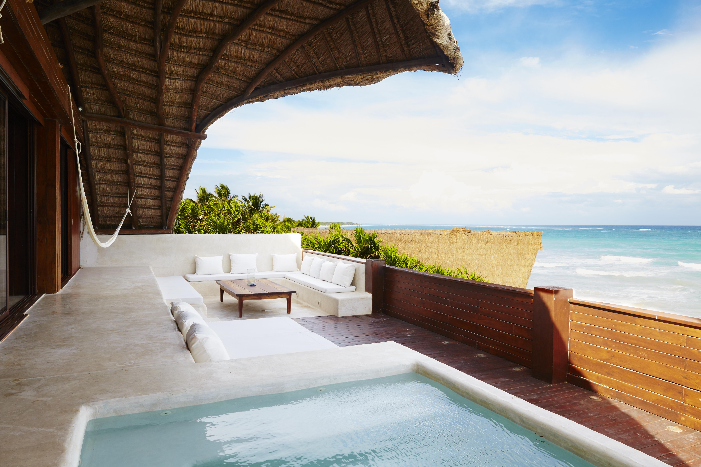 Luxury villas in mexico glamping in mexico for Villas tulum