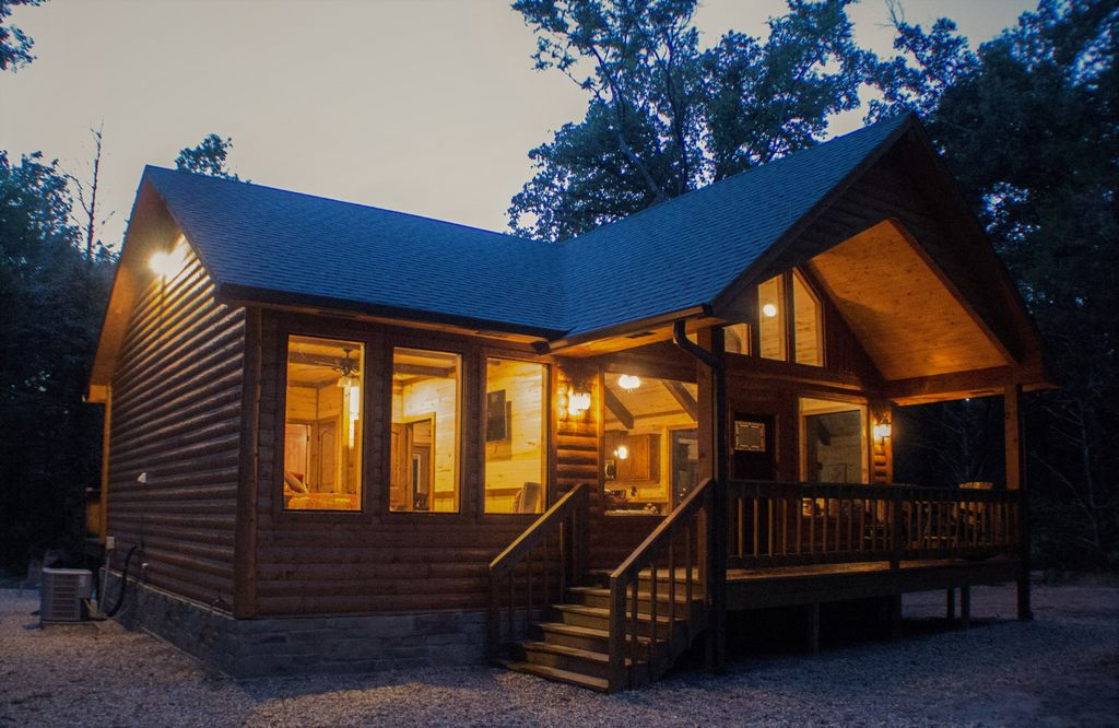 cabin rental near dallas texas