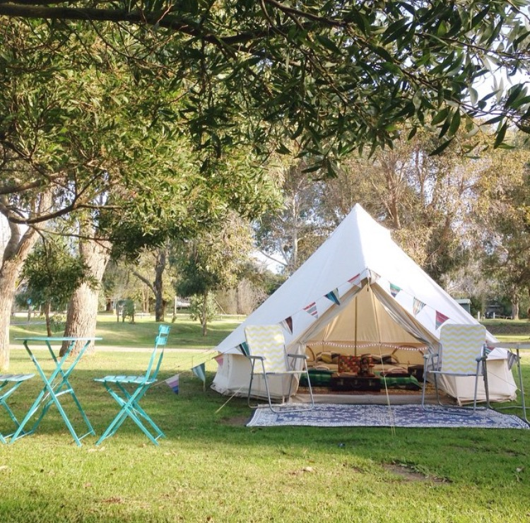 & Bell Tent Hire in Victoria
