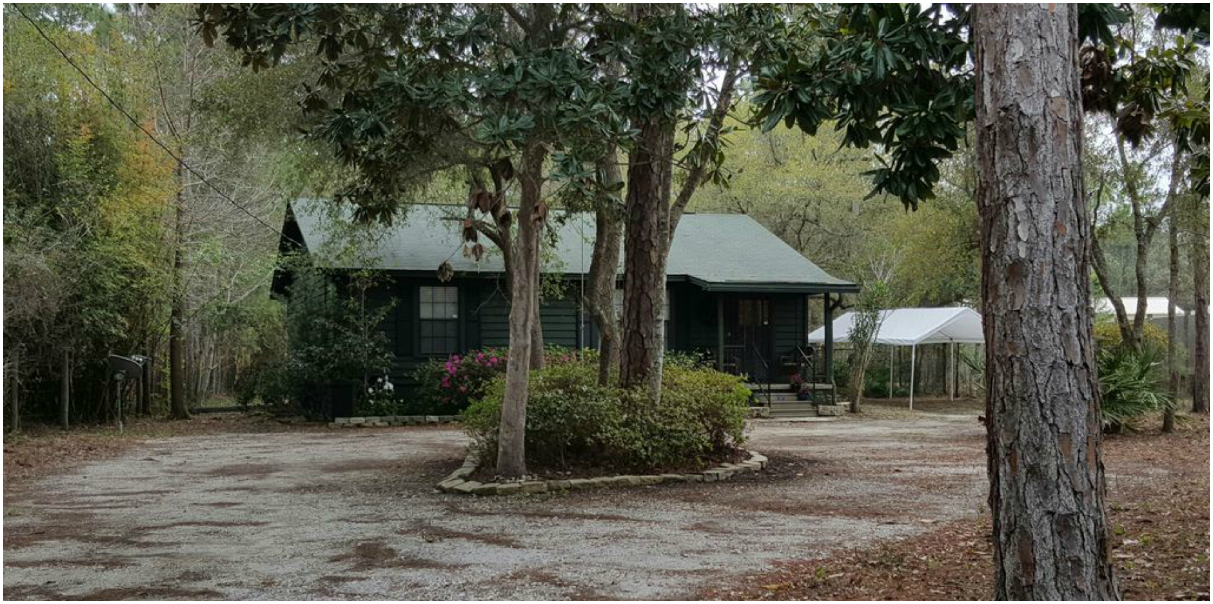 campsite cabins rental travel accommodation rentals runner resort fort cabin road florida and rustic pierce rates