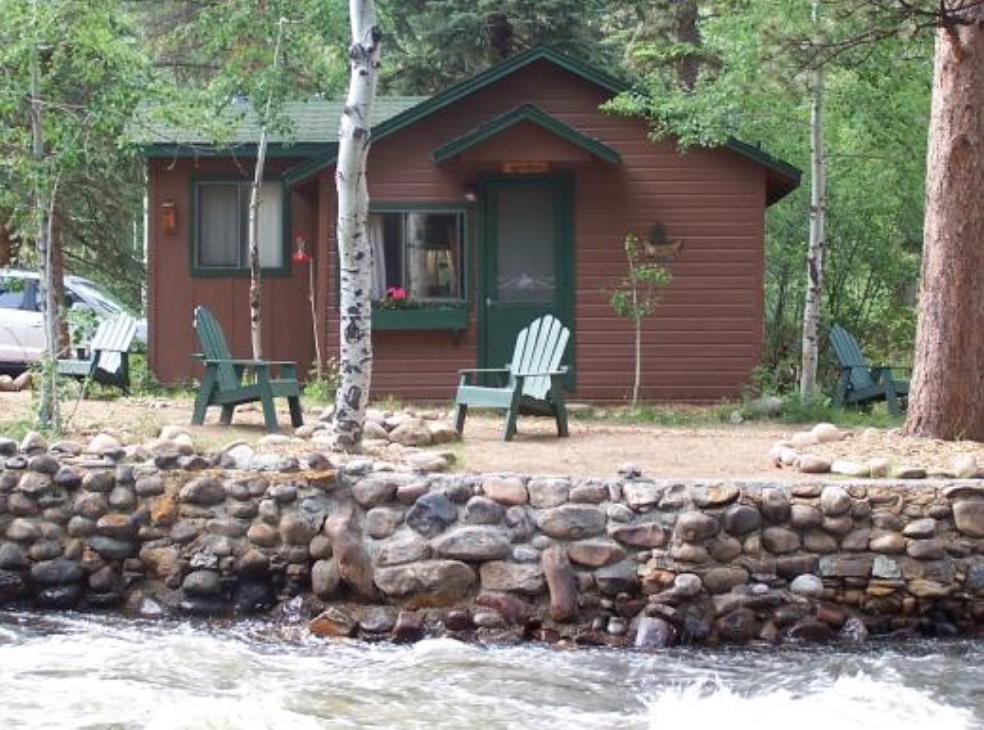 Riverside cabin rocky mountain national park colorado for Rocky mountain state park cabins