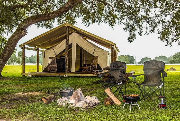 Camping Luxury In Florida