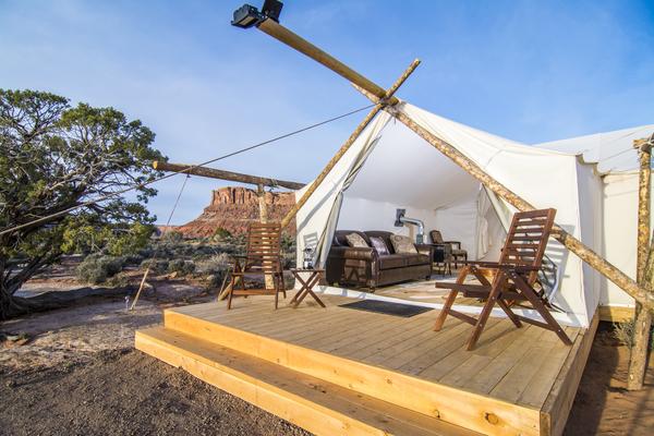 Luxury Camping In Moab Utah Luxury Tent Camping Utah