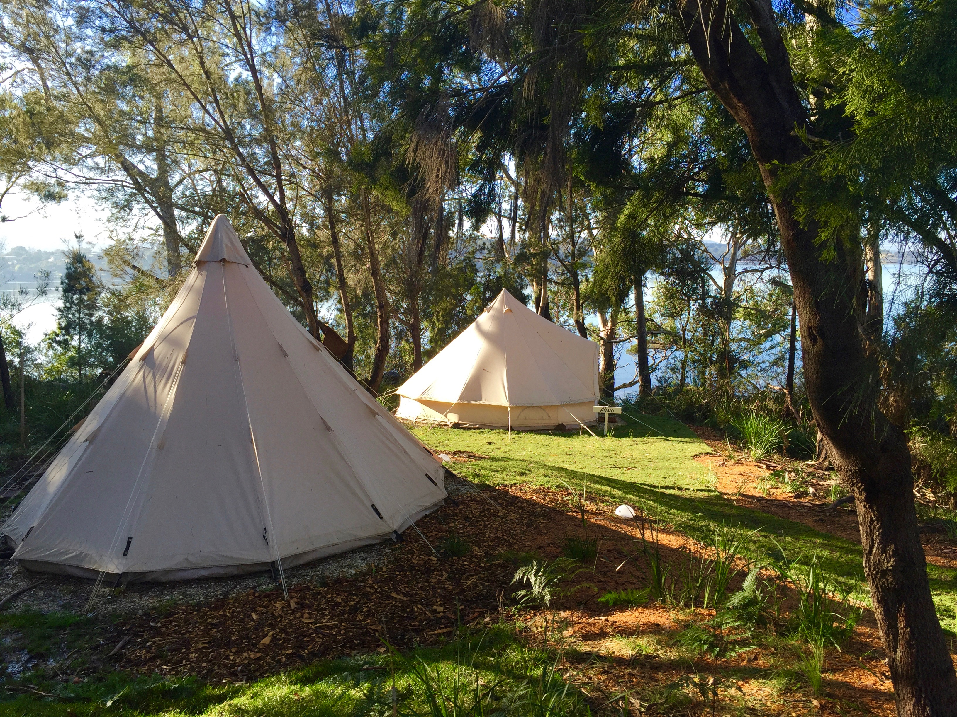 & Luxury Tents in Tasmania