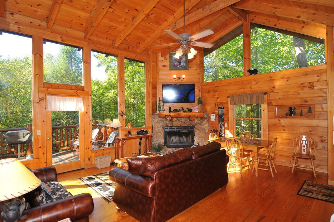 Smoky mountain cabin vacation rental for Smoky mountain nc cabin rentals