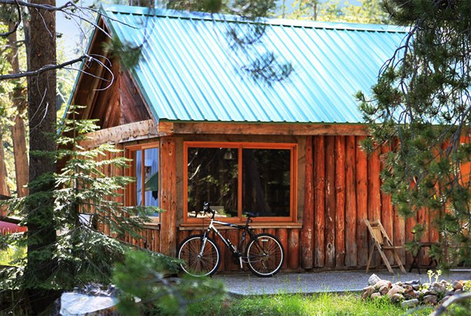 a valley cabins john most cabin conservationist stream muirs america yosemite lived running in muir s worked it had naturalist famous through and