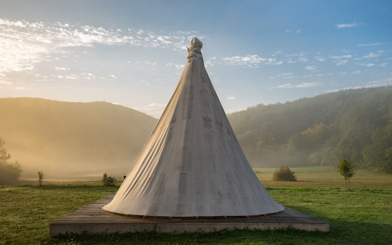 Private Horse Ranch with Authentic Tipis, Croatia