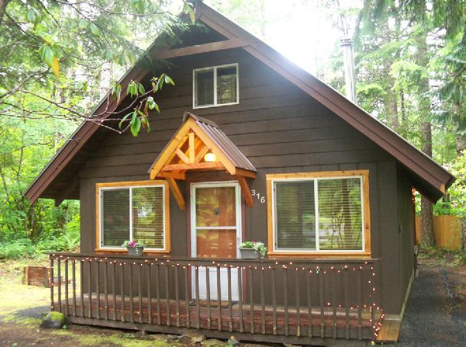 Cabin rental near mt rainier washington for Cabins near mt ranier