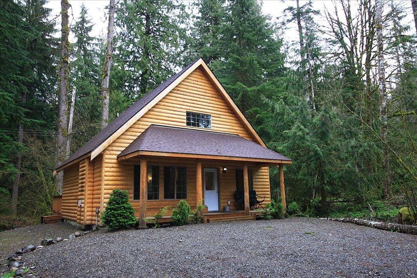 log cabin rental near seattle