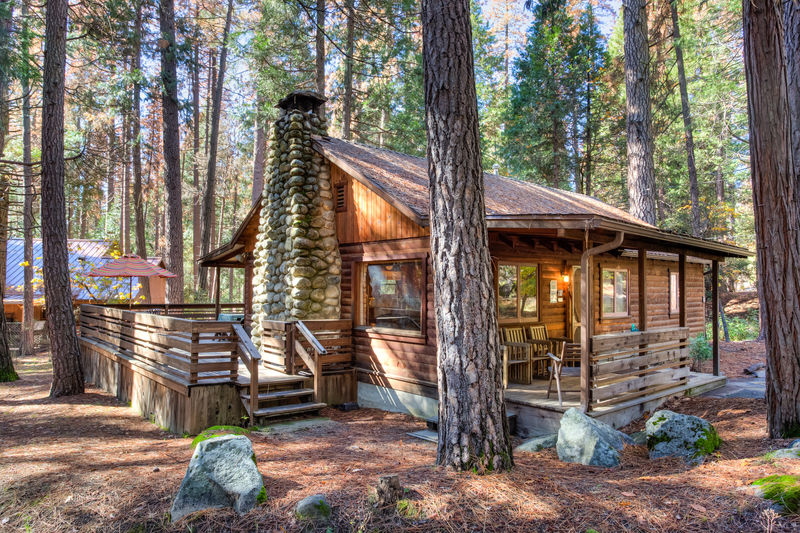 national housekeeping cabins nearby california of yosemite camp in views picture park and cabin locationphotodirectlink