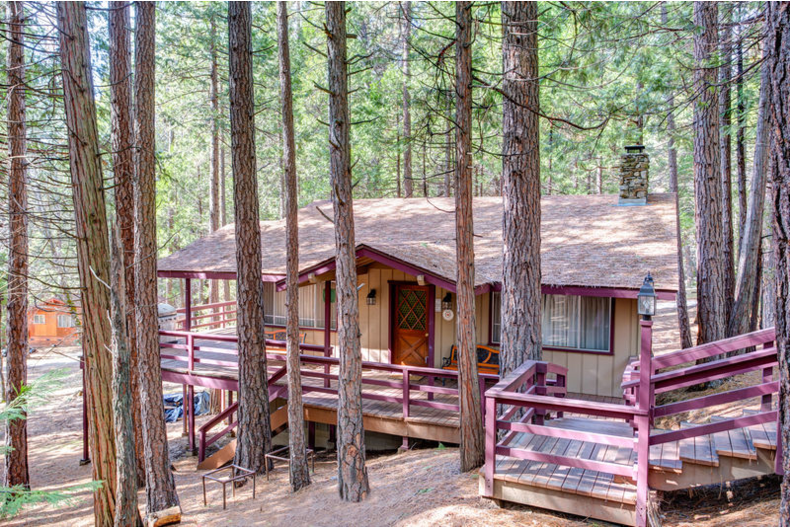 Furnished cabin in yosemite national park for Cabins in yosemite