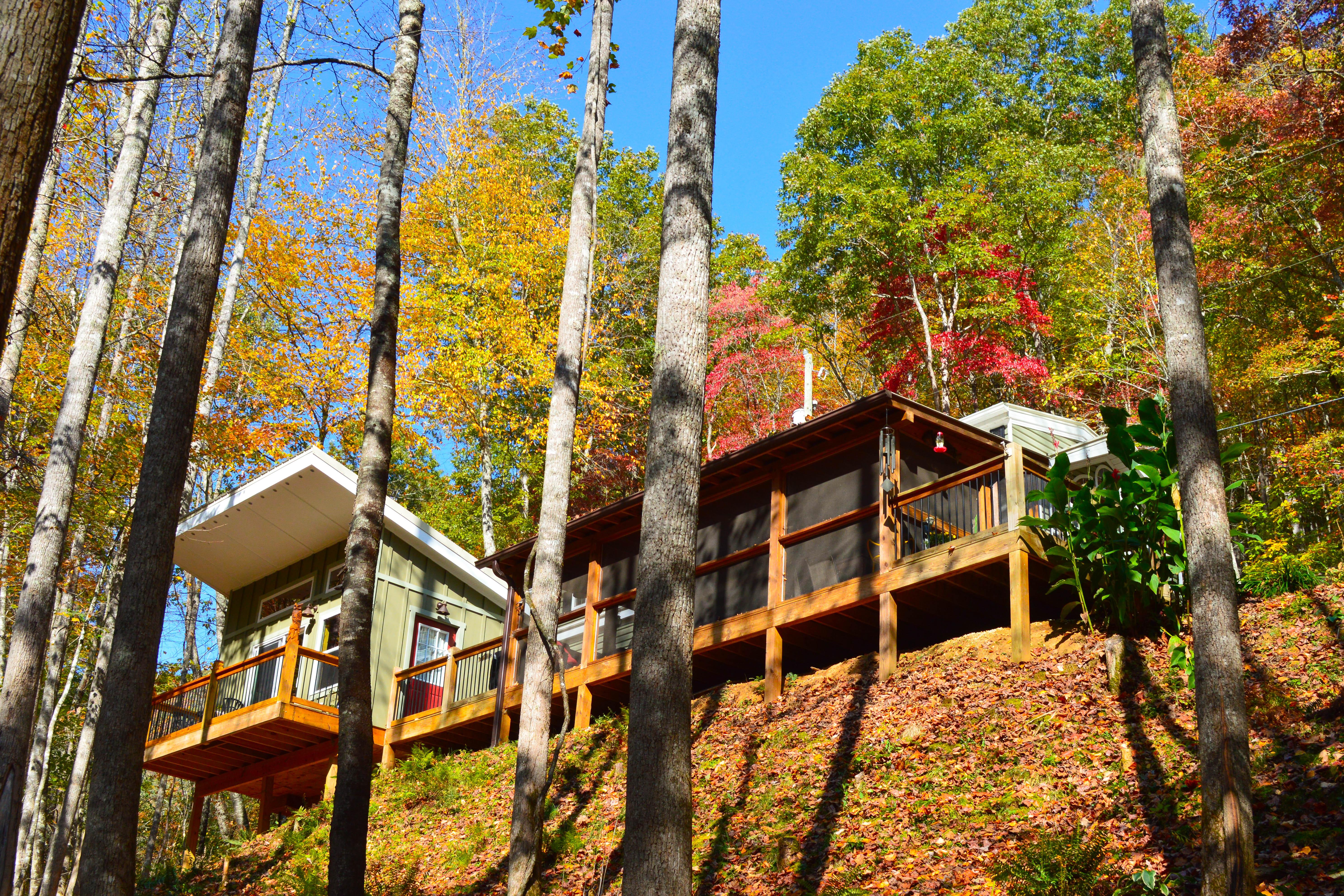 Cabin for rent in nantahala national forest for The cabins at nantahala