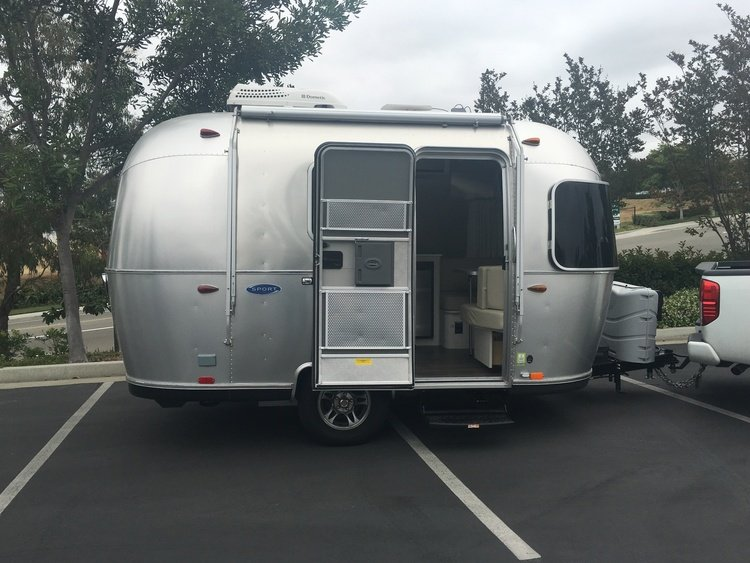 airstream rental near santa ana california. Black Bedroom Furniture Sets. Home Design Ideas