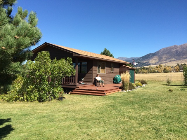 cabin rental near bozeman montana