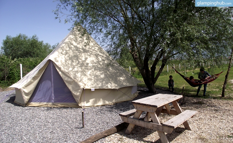 & Rent Bell Tents in Albania | Luxury Camping in Albania