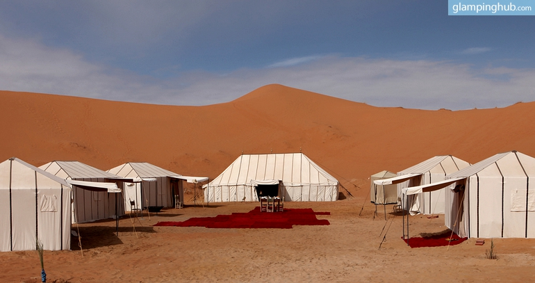 & Luxury Tents in Morocco Desert | Glamping in Morocco