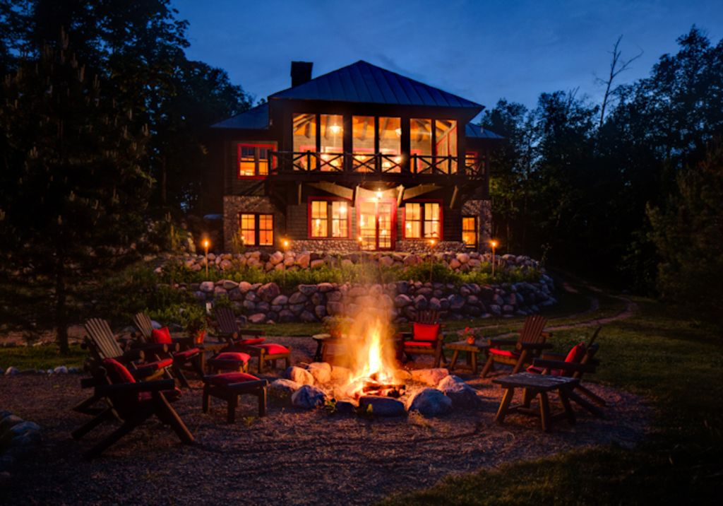 Family reunion cabins by star lake wisconsin for Up north cottages