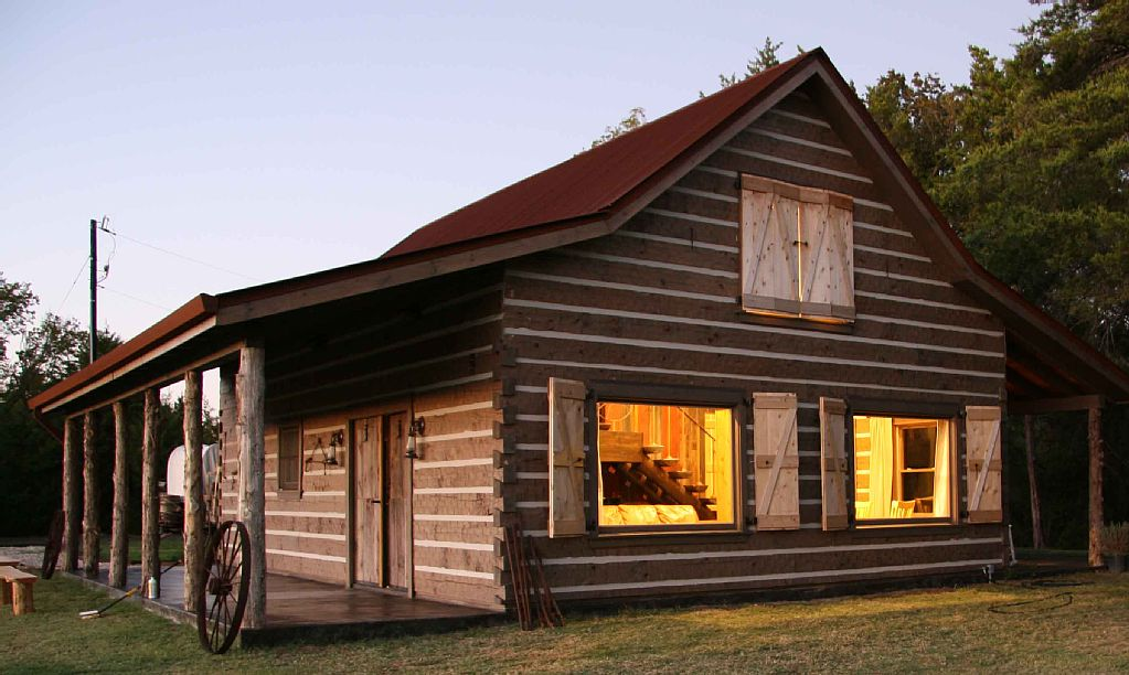 cabin rental on horse ranch near dallas