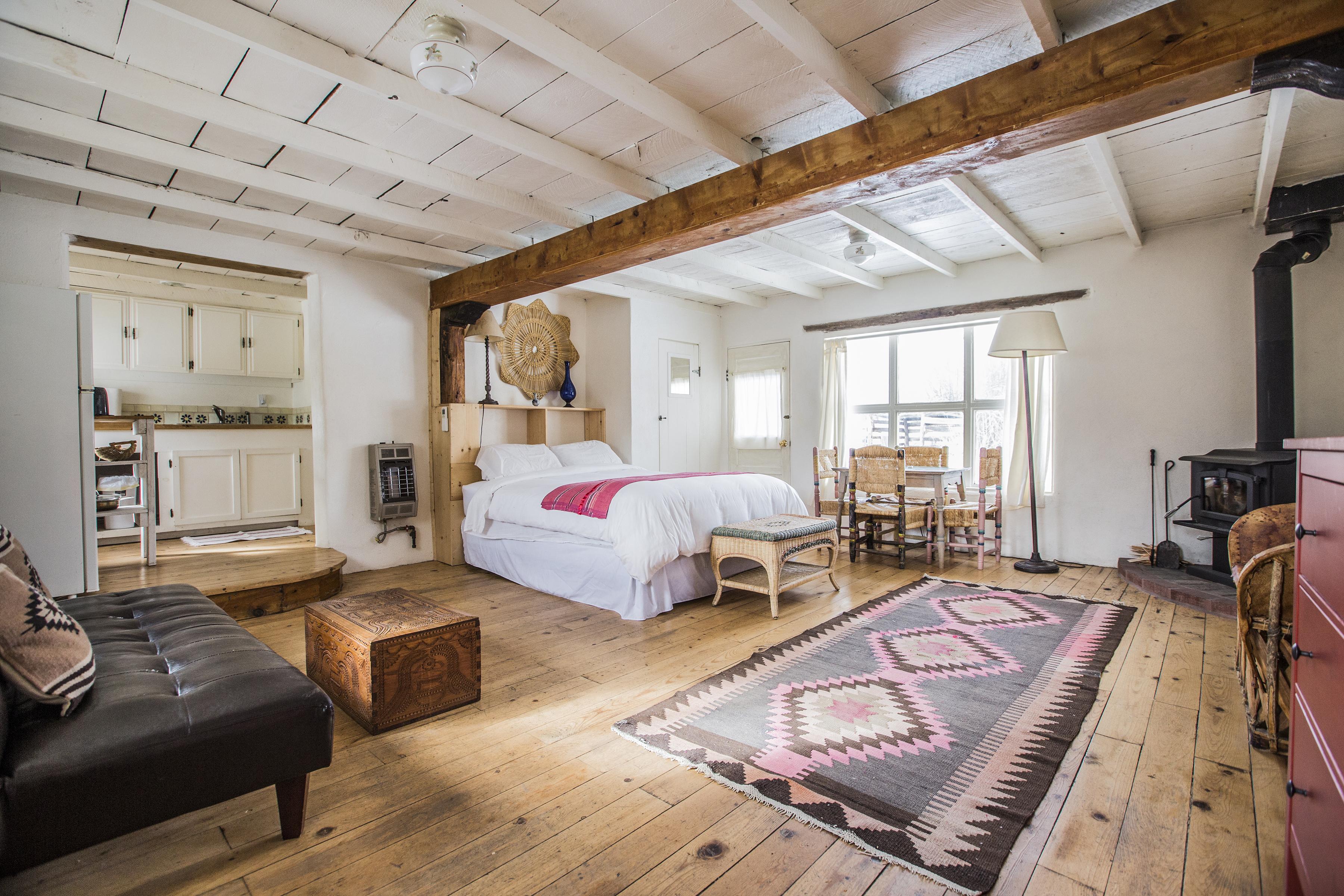 Studio cabin suite on organic farm near taos new mexico solutioingenieria Images