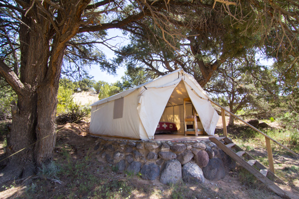 & Luxury Tent Utah
