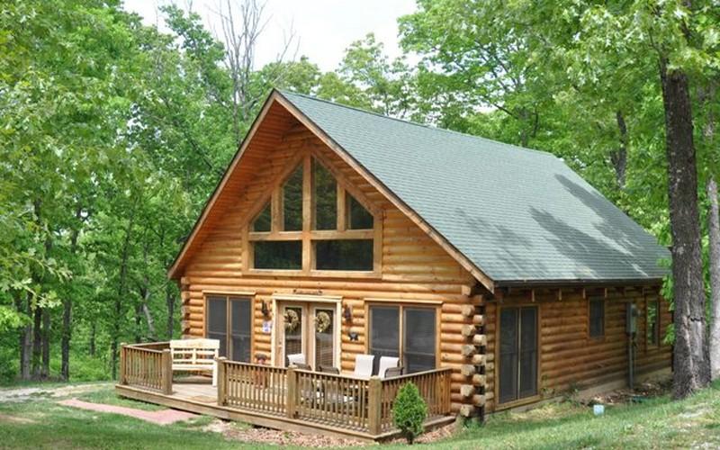 Glamping cabin ozarks for 2 story cabin