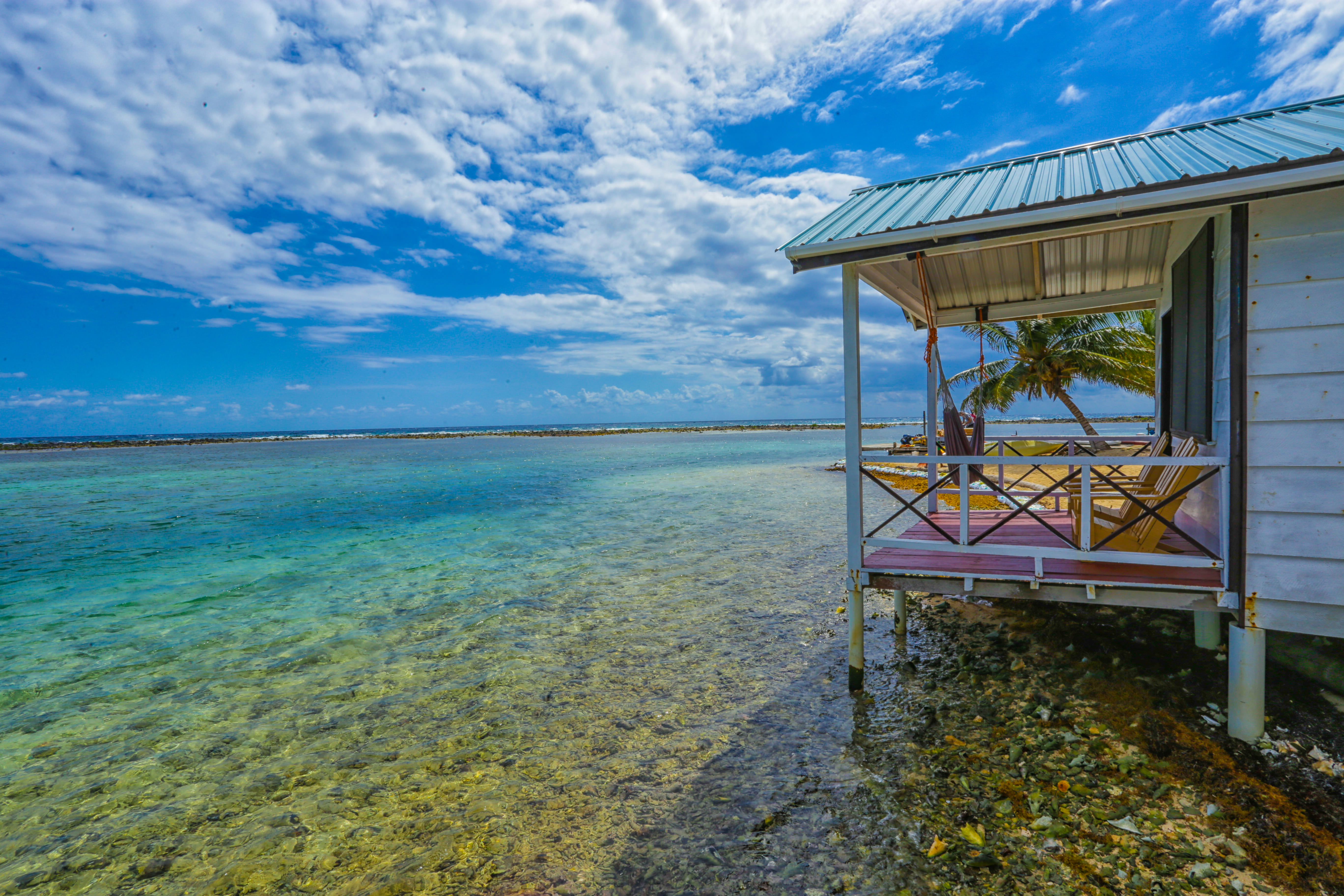 Unique Rentals in Tobacco Caye, Belize