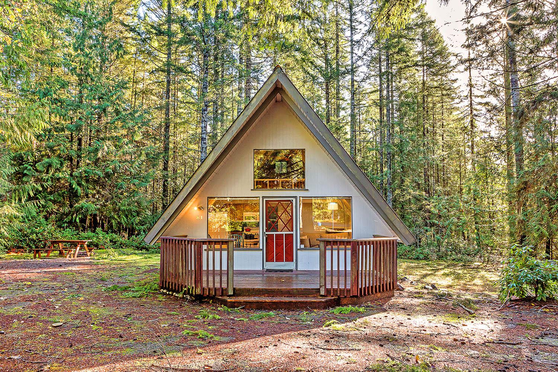 Luxury Cabin For Rent Near Lake Cushman Washington