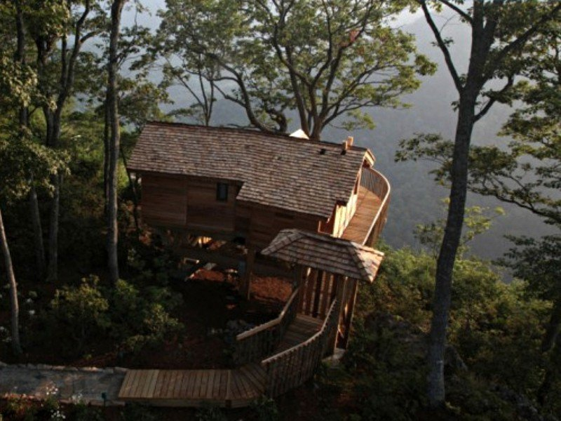 Escape to a Tree House on the East Coast