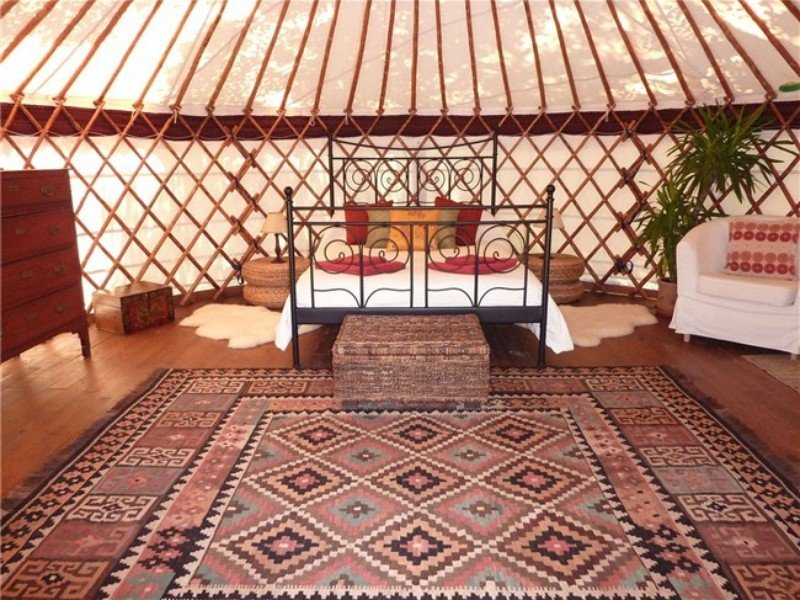 The Fab Features of a Luxury Yurt