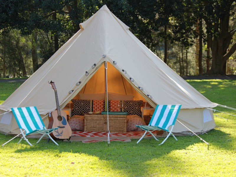Luxury Tent Escapes around Australia