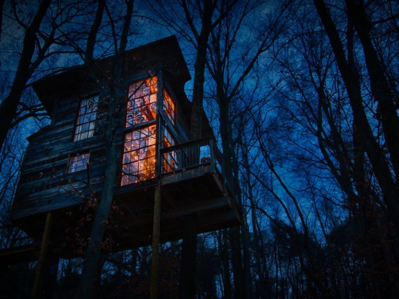 Win a Tree House Stay: Treetop Hideaways