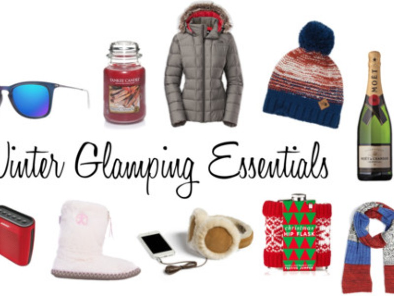 Winter Glamping Essentials