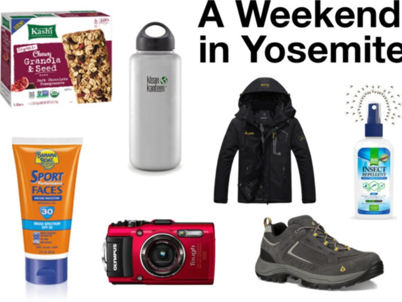 Your Essentials Packing List for a Weekend in Yosemite