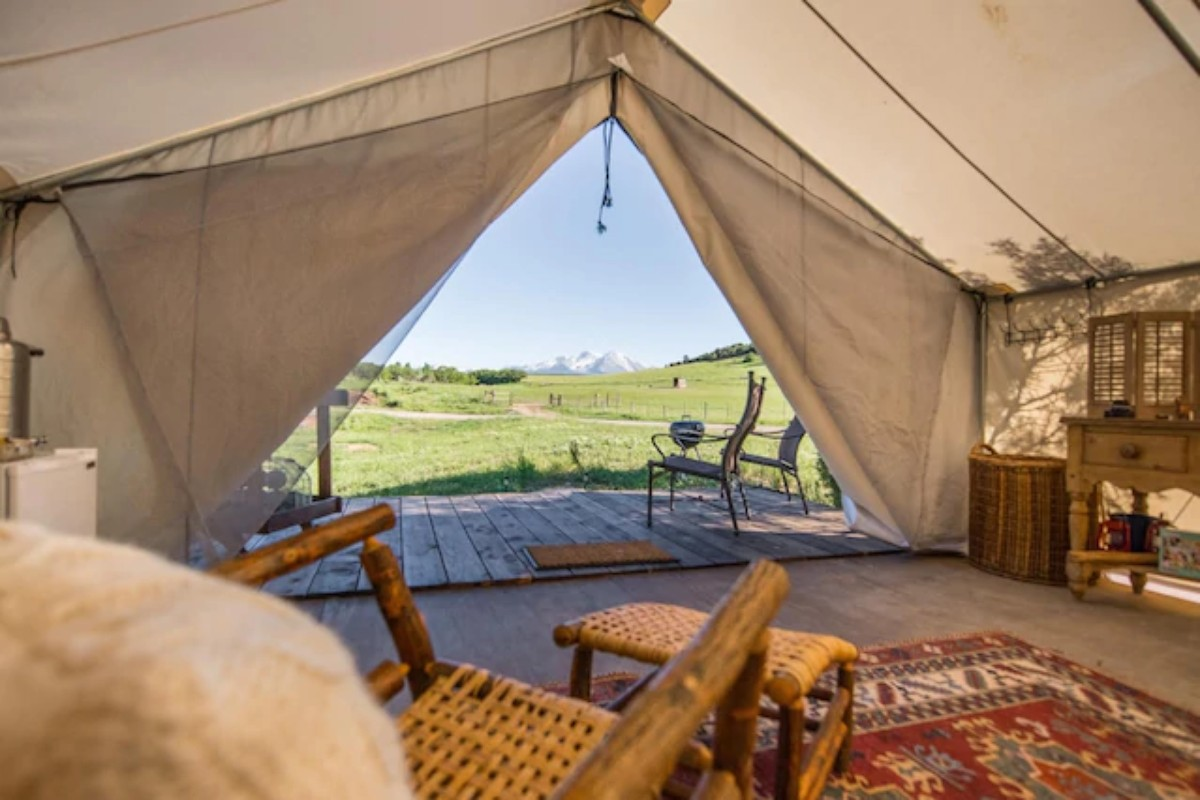 & The Best Glamping Safari Tents to Rival Coachella