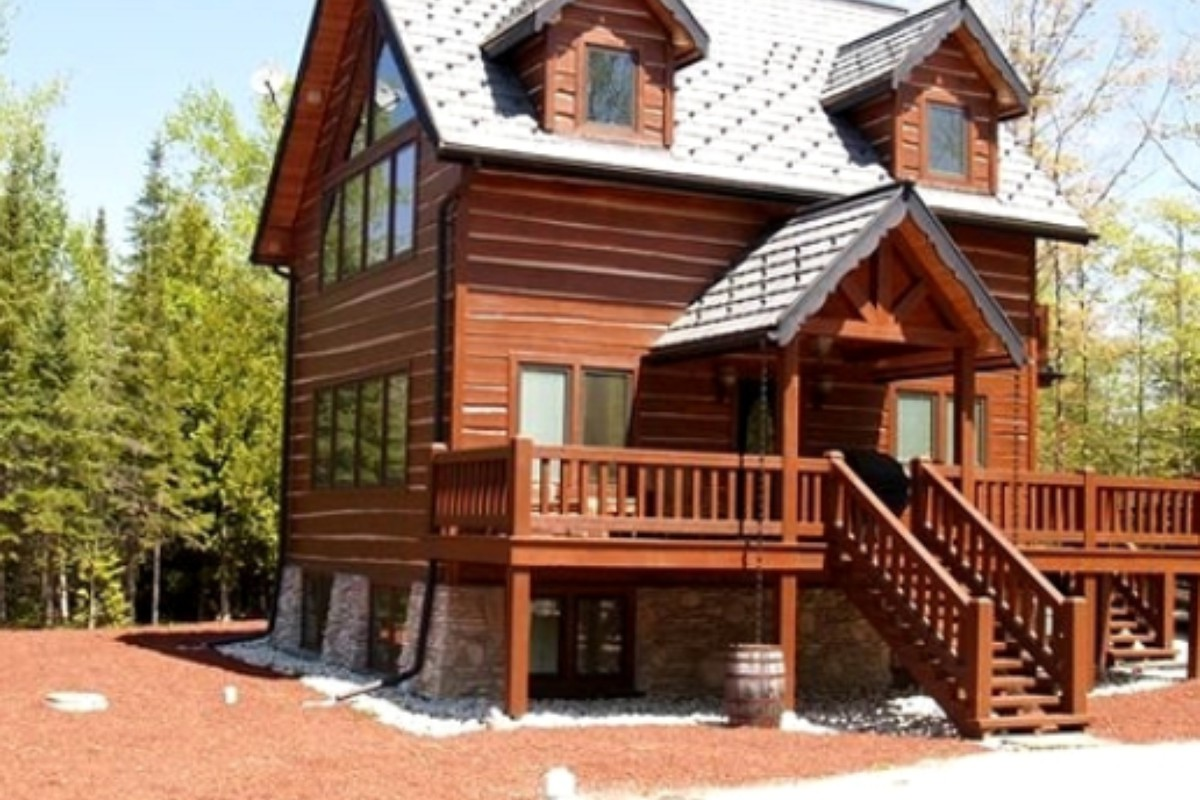 poplar cabins mackinaw hot cabin broadwing farm with of f tub vrbo