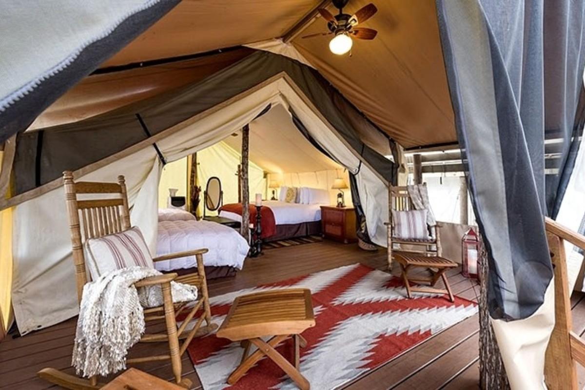 & Best Luxury Tents on the East Coast