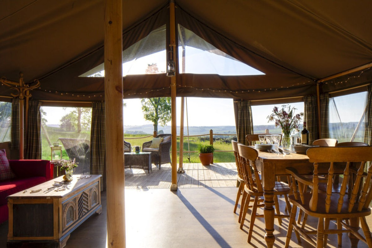 & Best Safari Tent Holidays in the UK