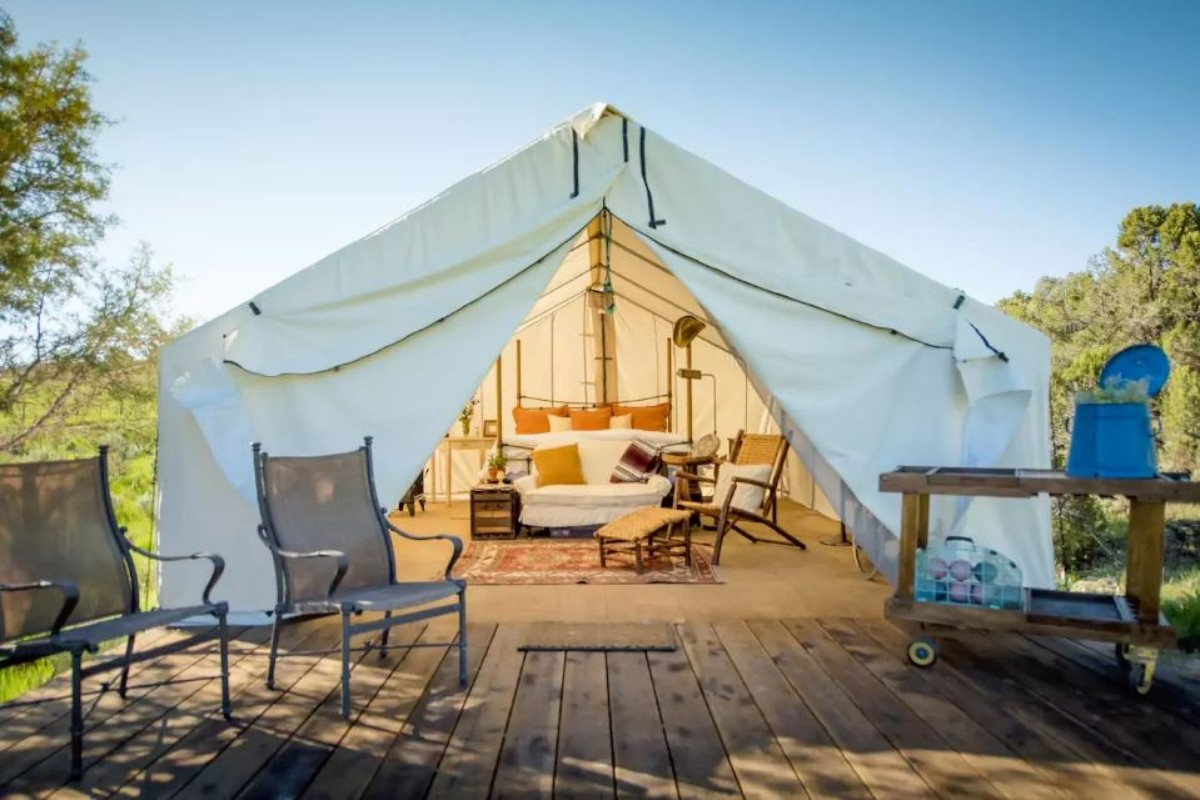 The best glamping in the u s a for Best weekend getaways in the south