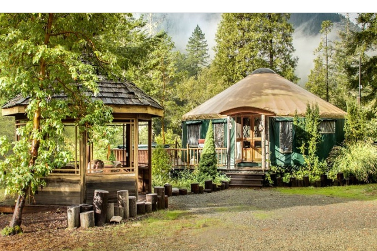 Best Yurts in Pacific Northwest
