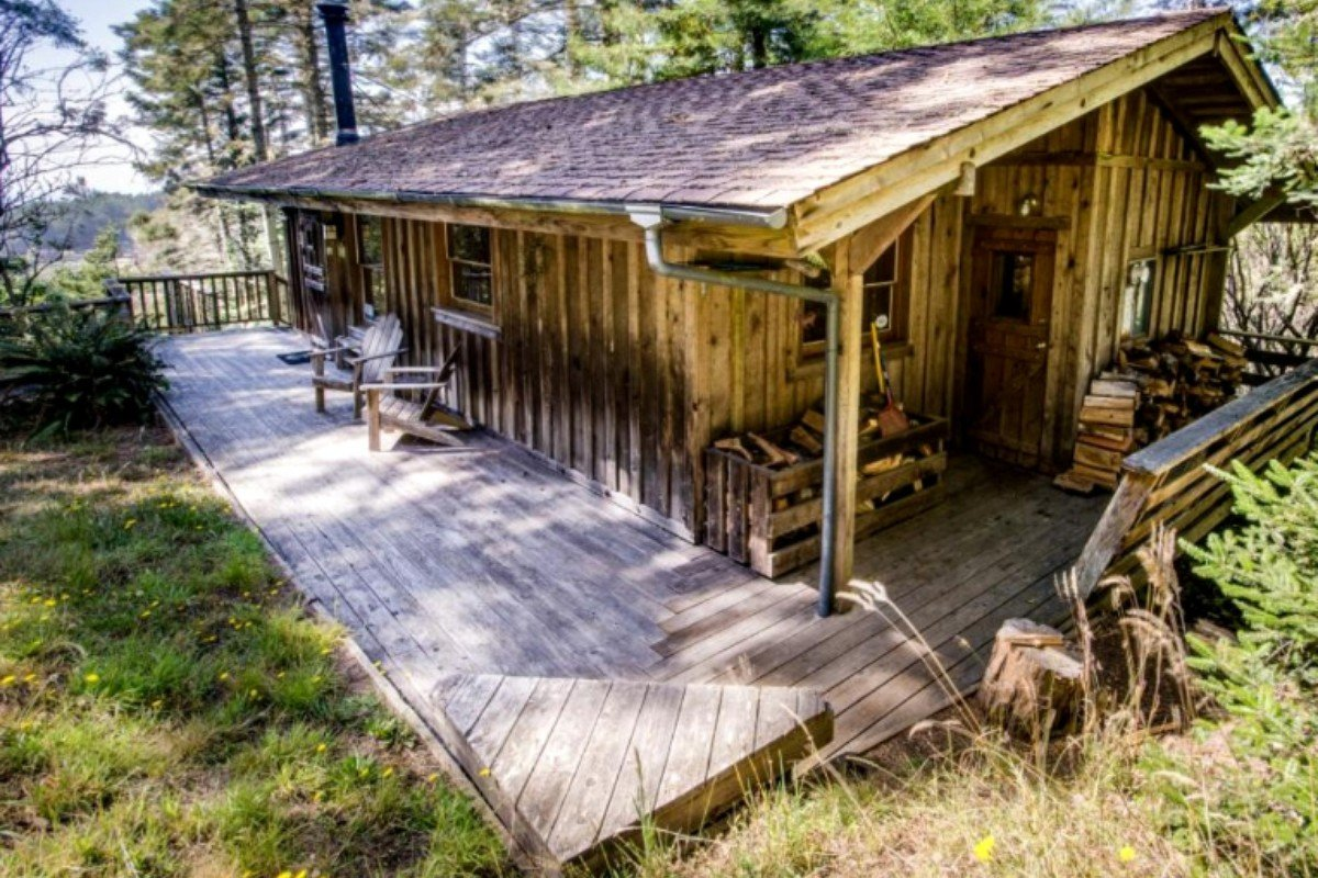 Cabins with Fireplaces in Northern California