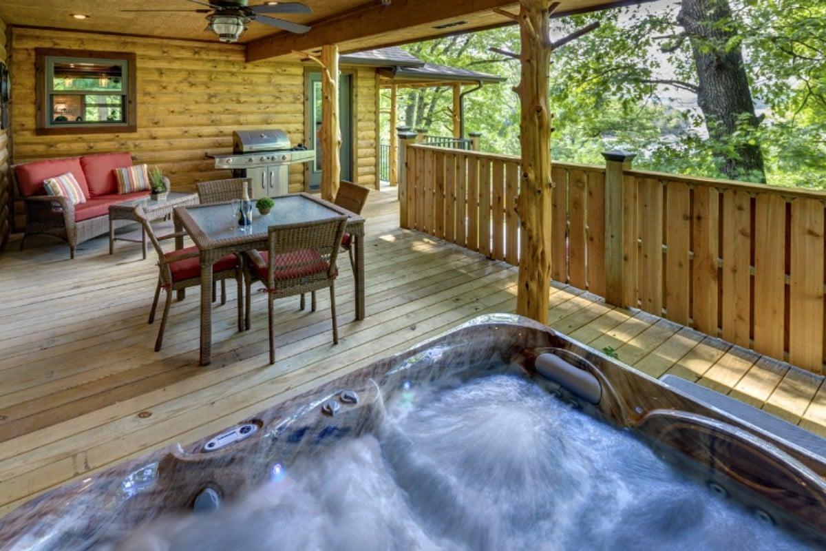 cabins cabin in eureka log luxury springs cherokee mountain resort arkansas