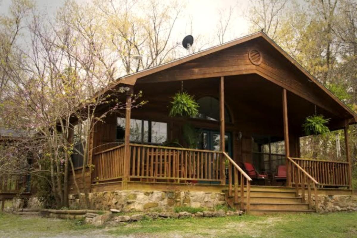 Arkansas getaways for Ozark national forest cabins