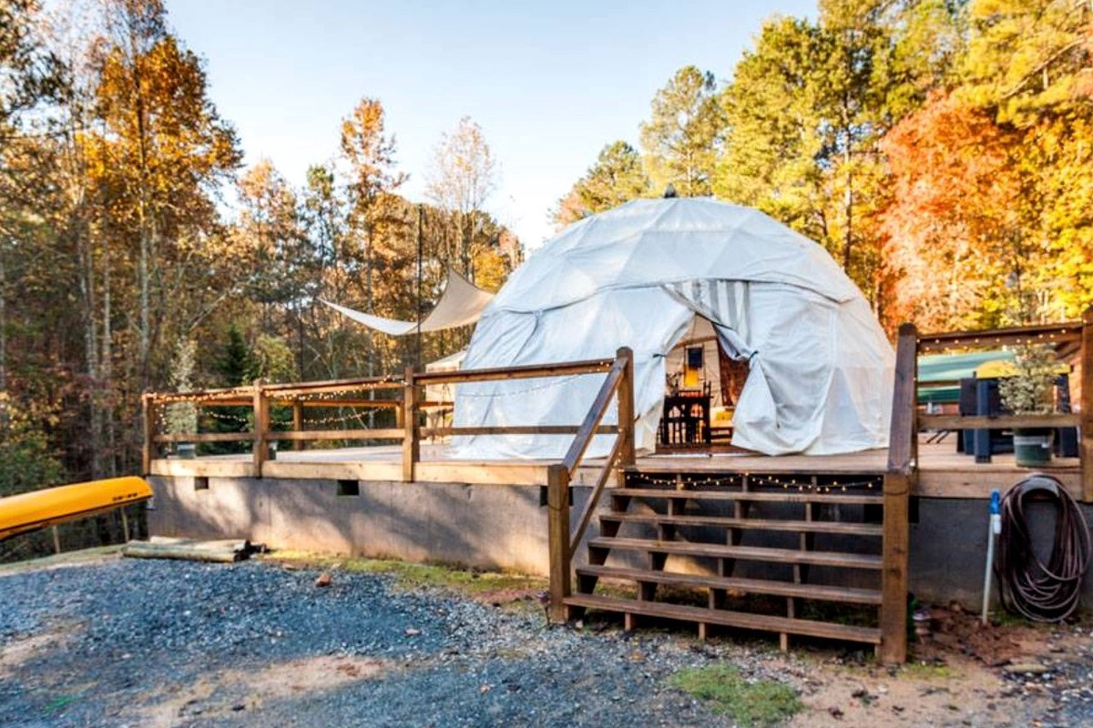 Country Getaways Near Chattahoochee National Forest