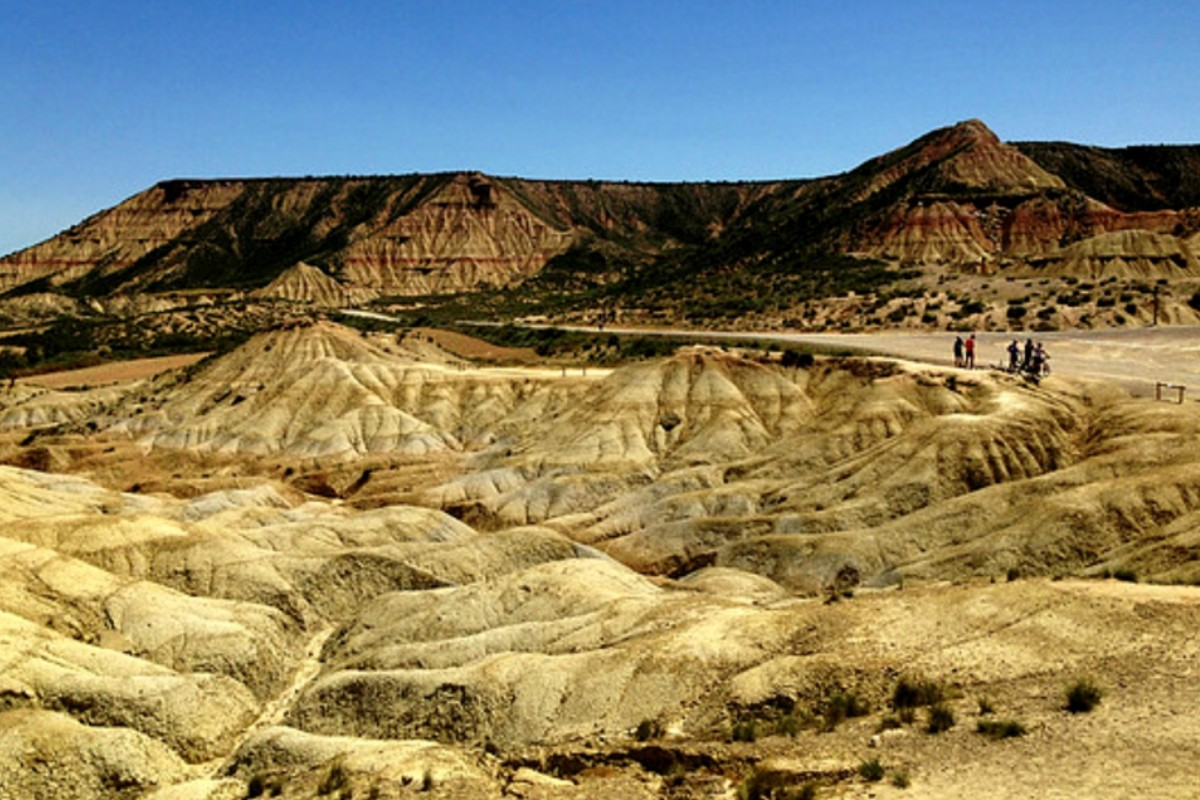 Visit the Desert of Bardenas in Navarra, Spain