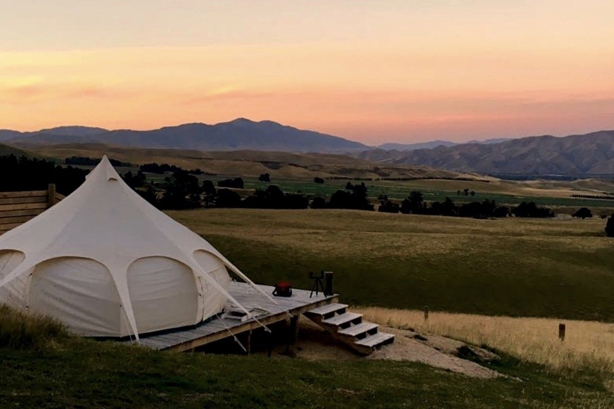 Family Tent Rentals on South Island, New Zealand